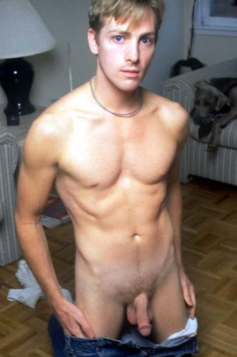 Blond naked male pics